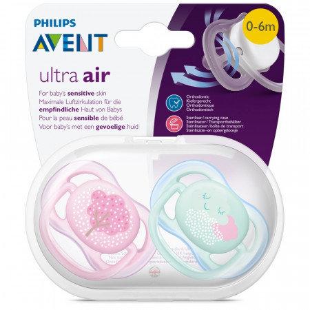 Avent – Chupete Ultra Air Hello x 2