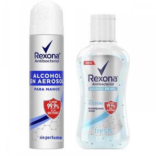 Kit Rexona Alcohol