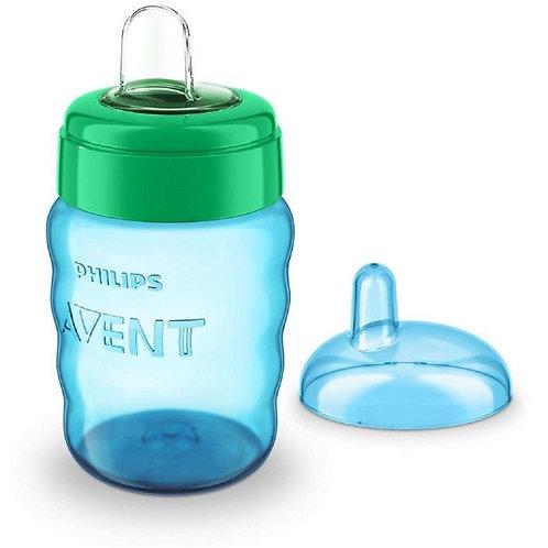 Avent Vaso x 260 ml Con Boquilla Easy Sip Azul/Verde