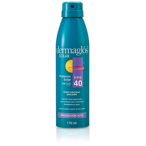 Dermaglos Solar FPS 40 Spray Continuo x 170ml