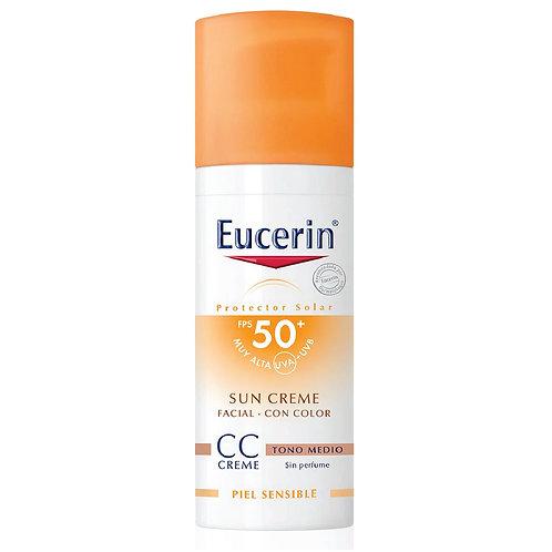 EUCERIN SUN CC CREAM FPS50+ 50 ML