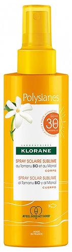 Polysianes Klorane Spray Sublimador Spf30 200ml