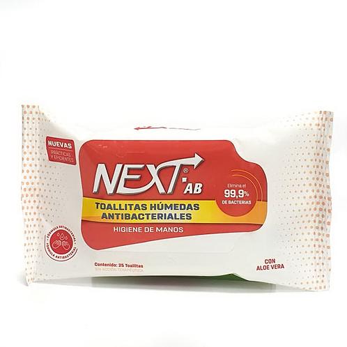Next AB – Toallitas x 25u