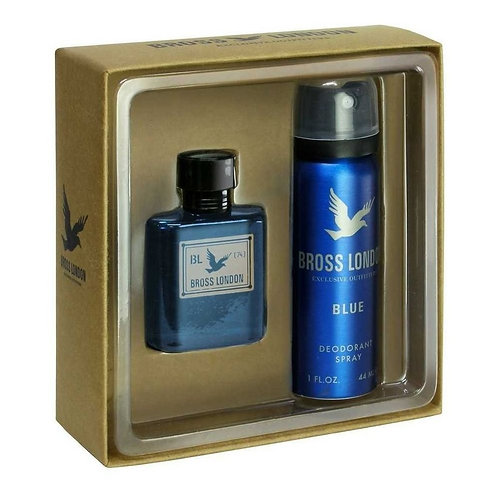 Bross London Blue EDT 15ml + Desodorante 44ml