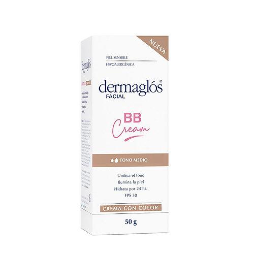 Dermaglos Facial BB Cream Tono Medio FPS30 50g