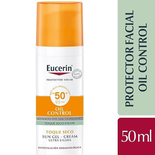 Eucerin Protector Solar x 50ml Facial Toque Seco Spf50