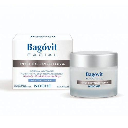 Bagovit Facial Pro Estructura Crema Noche 55g