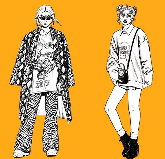 """Street Style Orange"", 2018"