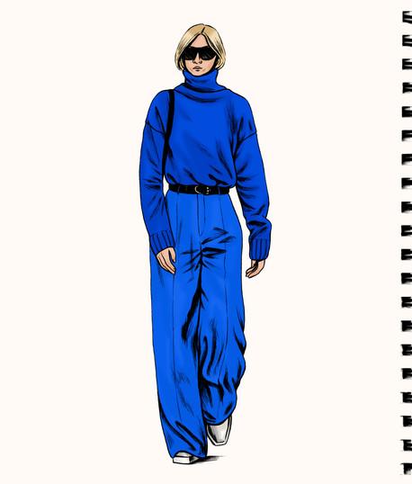 """""""Blue NYFW"""", 2019"""