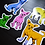 "Thumbnail: ""Chihuahuas!"" vinyl sticker pack"