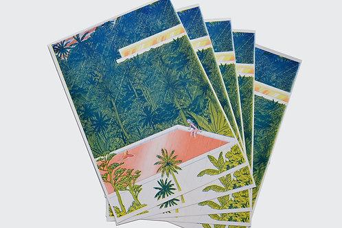"""""""Bali"""" A3 Risograph print"""