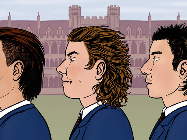 Mullets Have Become the Must-Have Haircut at English Private Schools