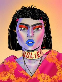 """""""Neon Face"""", 2019"""