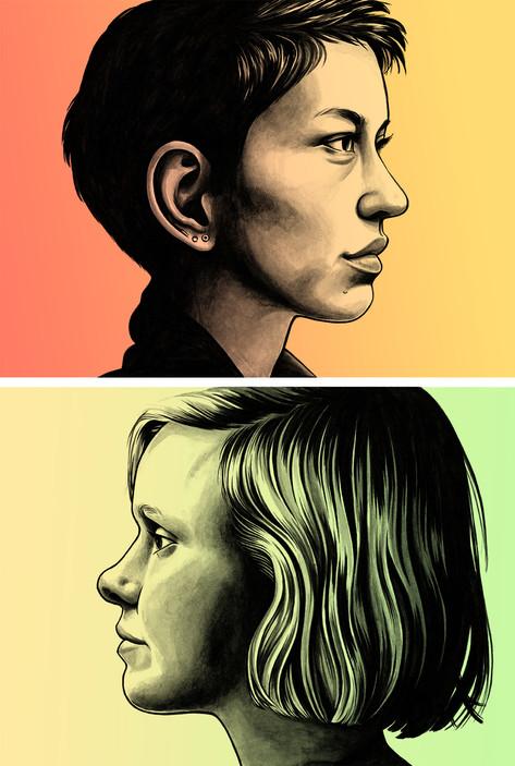 DEVS portrait studies