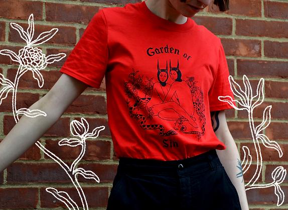 """""""Garden of Sin"""" t-shirt"""