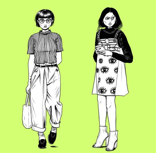 """Street Style Green"", 2018"
