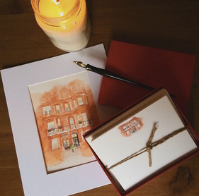 Custom Stationery : London Apartment