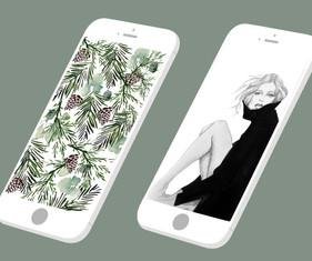 iPhone wallpaper designs!