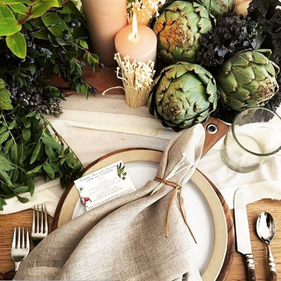 Setting the Thanksgiving Table with Jenni Kayne, Bash Please, Daphne Oz + Chalkboard Mag!