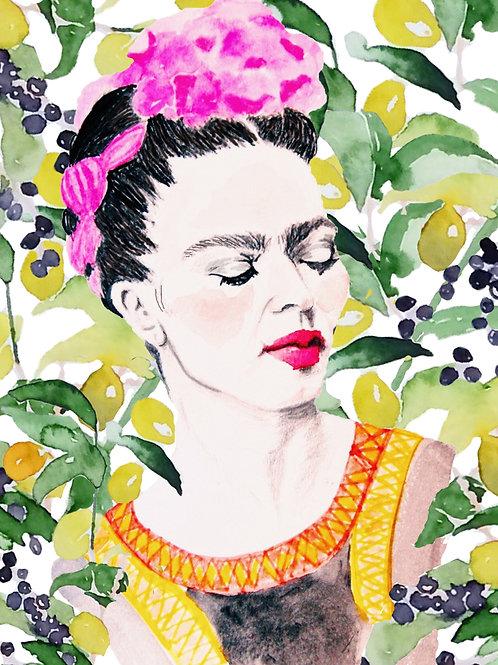 Frida in the jungle