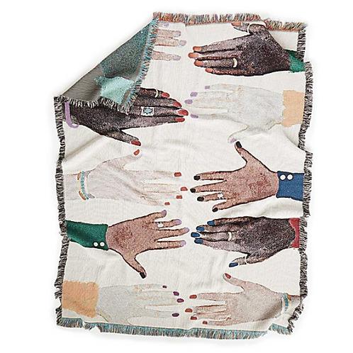 Humanity Art Blanket
