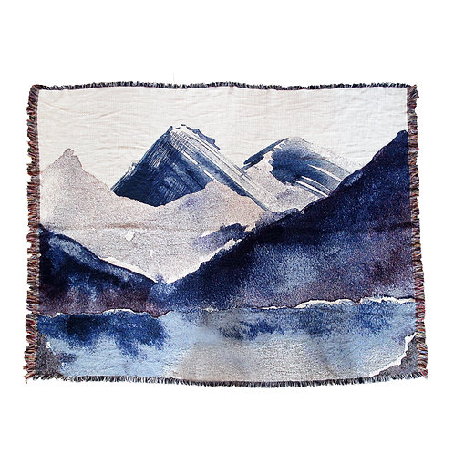 Mountain Art Blanket