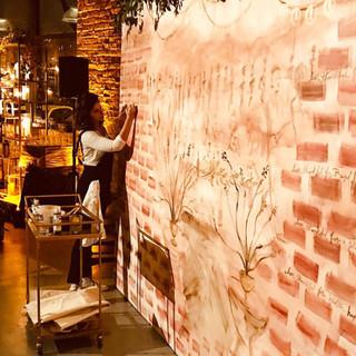 Live Mural for Basil Hayden's
