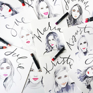 Portraits for Birchbox