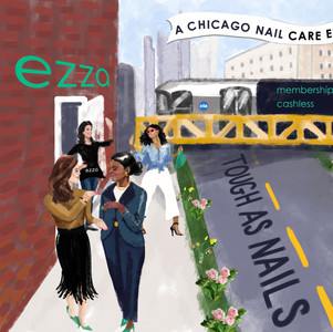 Mural for Ezza Nails