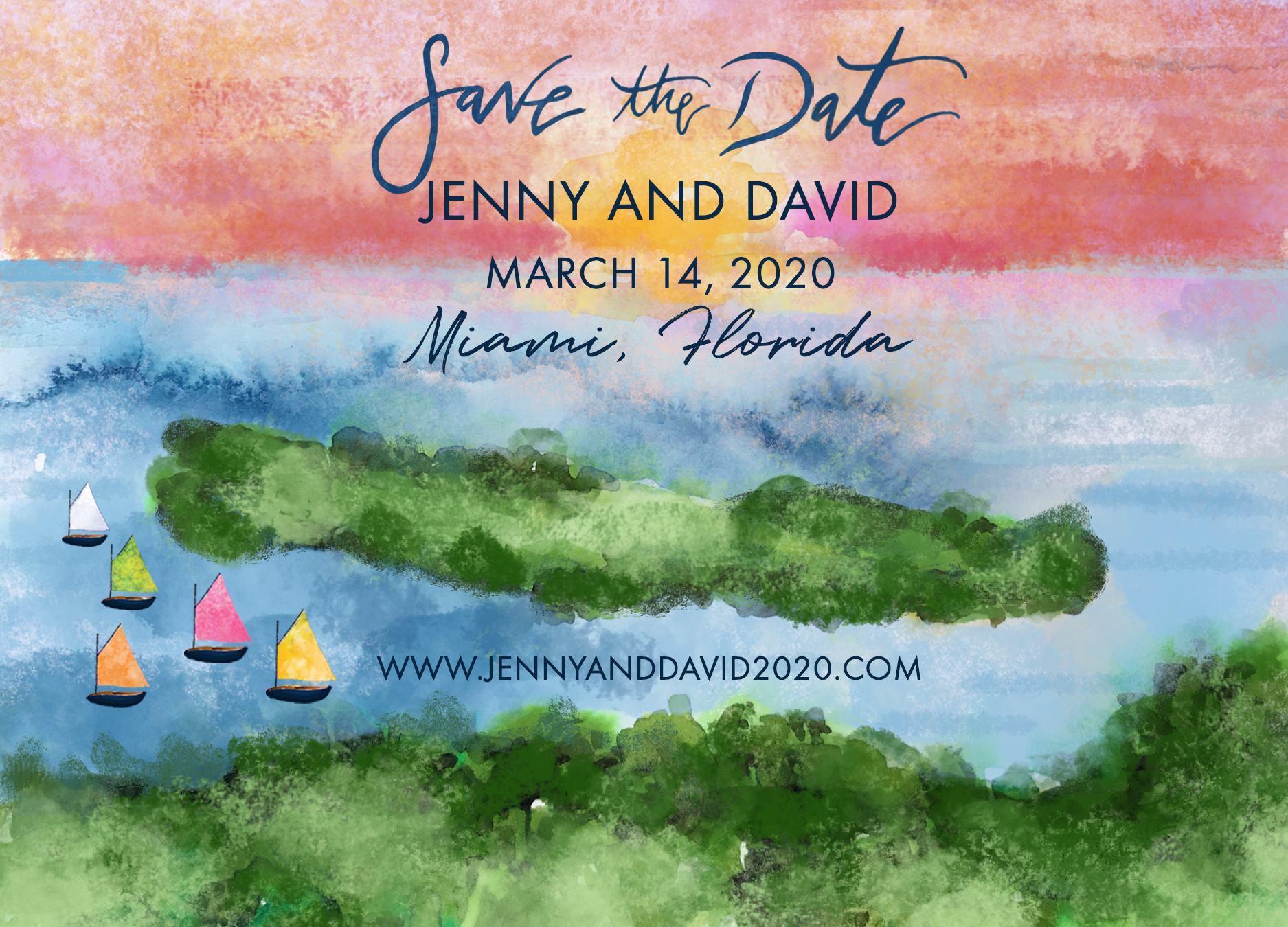Jenny and David