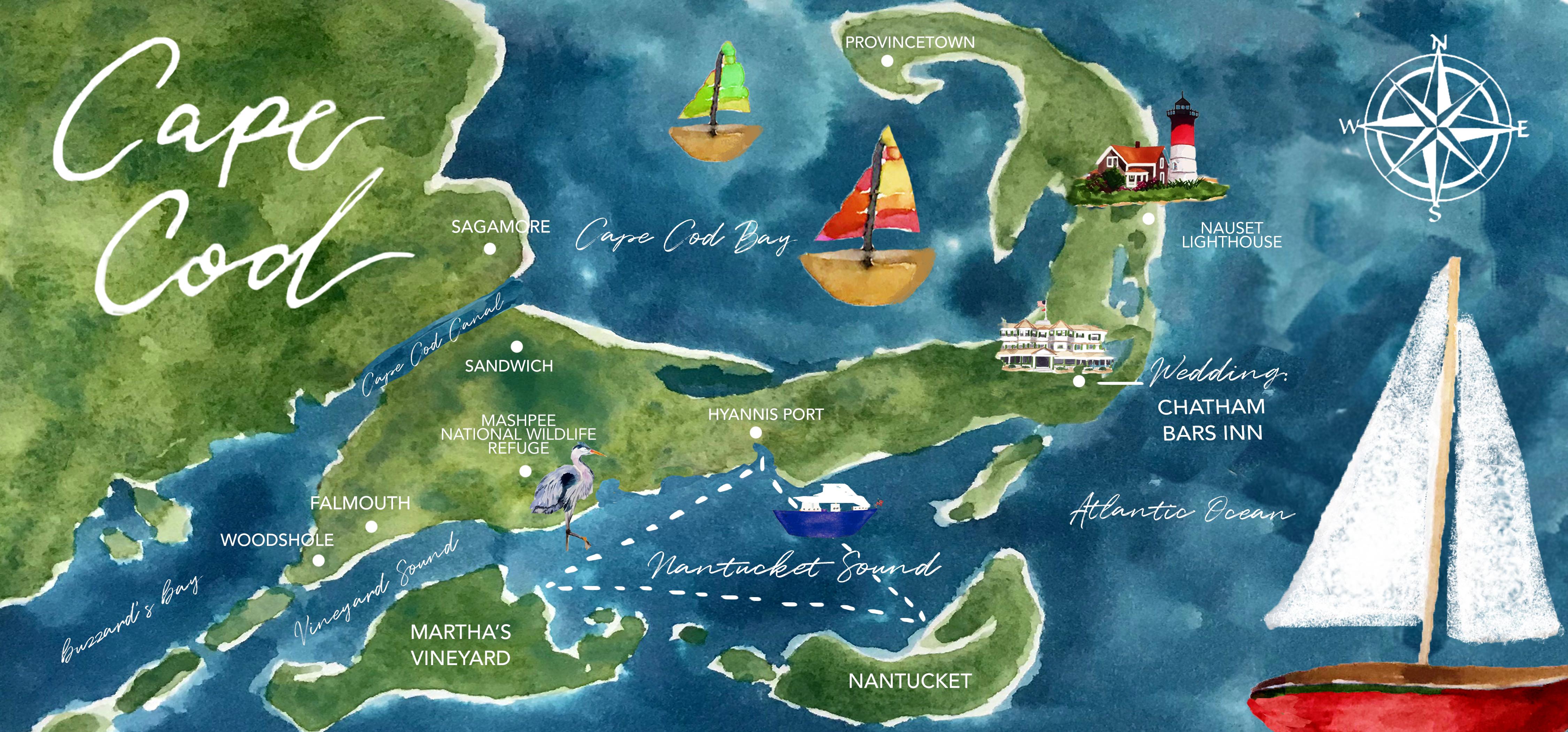 Cape Cod Map