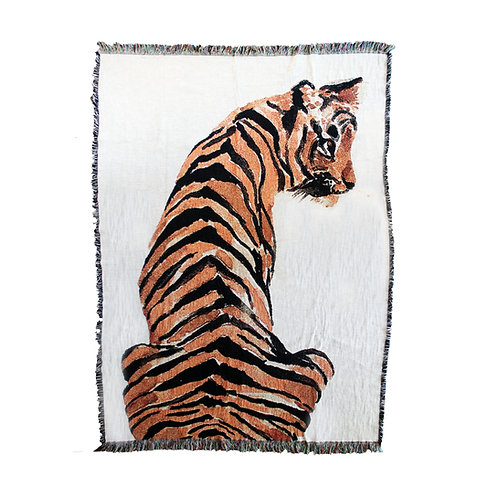 Tiger Art Blanket