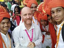 Indian youth in costume wth David.jpg