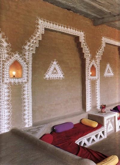 Indian indoor painted mud home.jpg