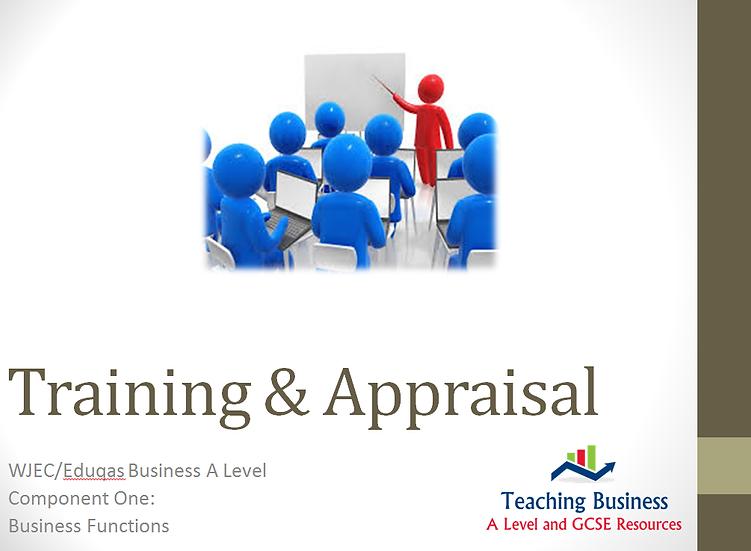 Eduqas Training and Appraisal