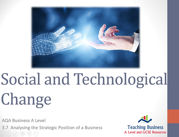 AQA Business - Social and Technological Change