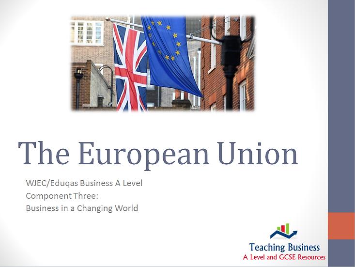 Eduqas PowerPoint - The European Union