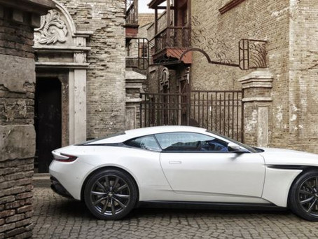 Aston Martin - Shaken not Stirred