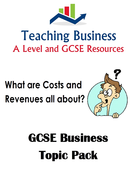 What are Costs and Revenues All About?