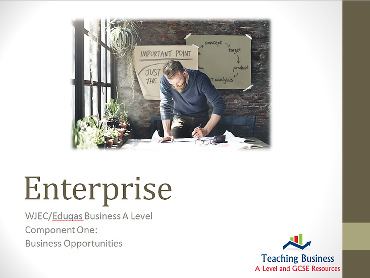 Eduqas PowerPoint Enterprise