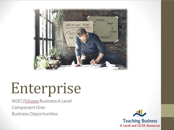 Eduqas PowerPoint Enterprise