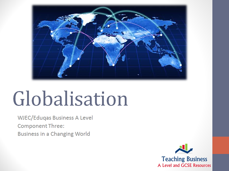 Eduqas Component 3 - Globalisation