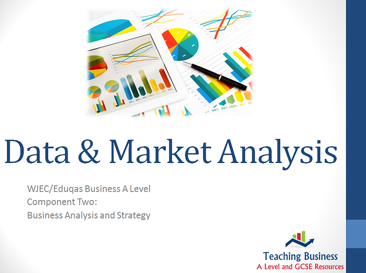 Eduqas PowerPoint Data and Market Analysis