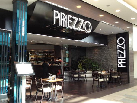 Prezzo's Rationalisation Plans
