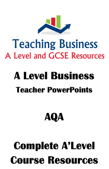 AQA A Level Business - Complete Year 12 and Year 13 PowerPoints