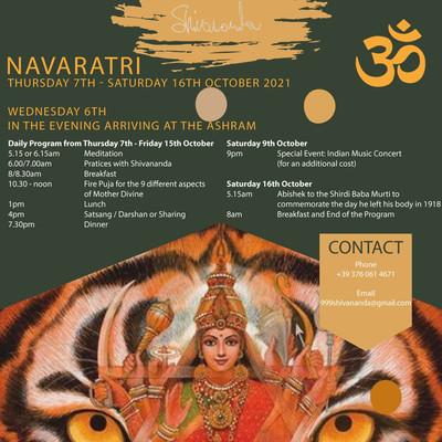 Navaratri Fest October 2021