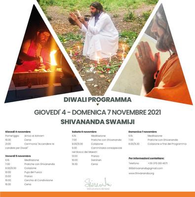Evento Diwali Novembre 2021