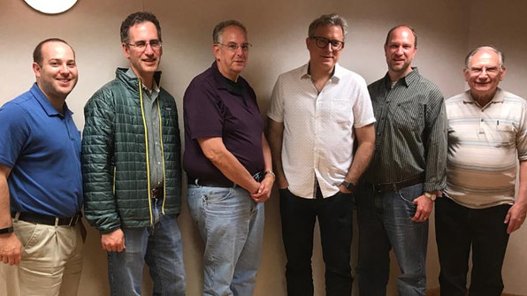 6 Hams Test at MAC Meeting