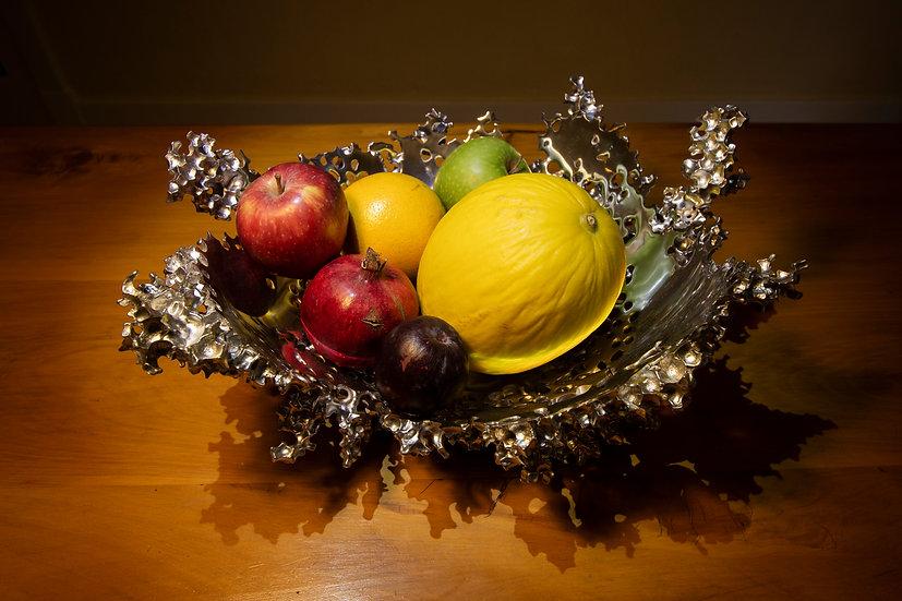 Aluminium fruit bowl .30