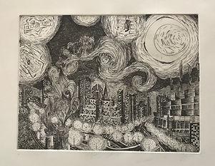 Starry Street 39 x 49 cm.jpg